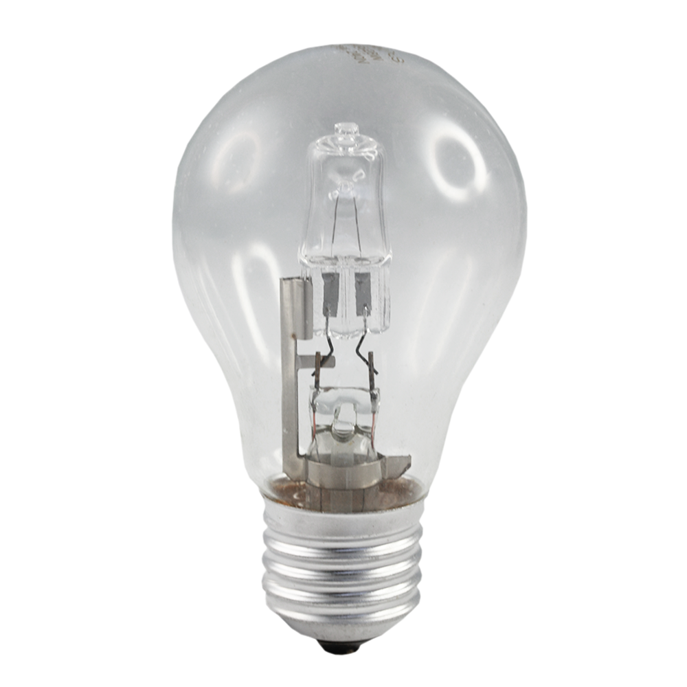 CLA Halogen GLS Energy Saving 28w Clear Edison