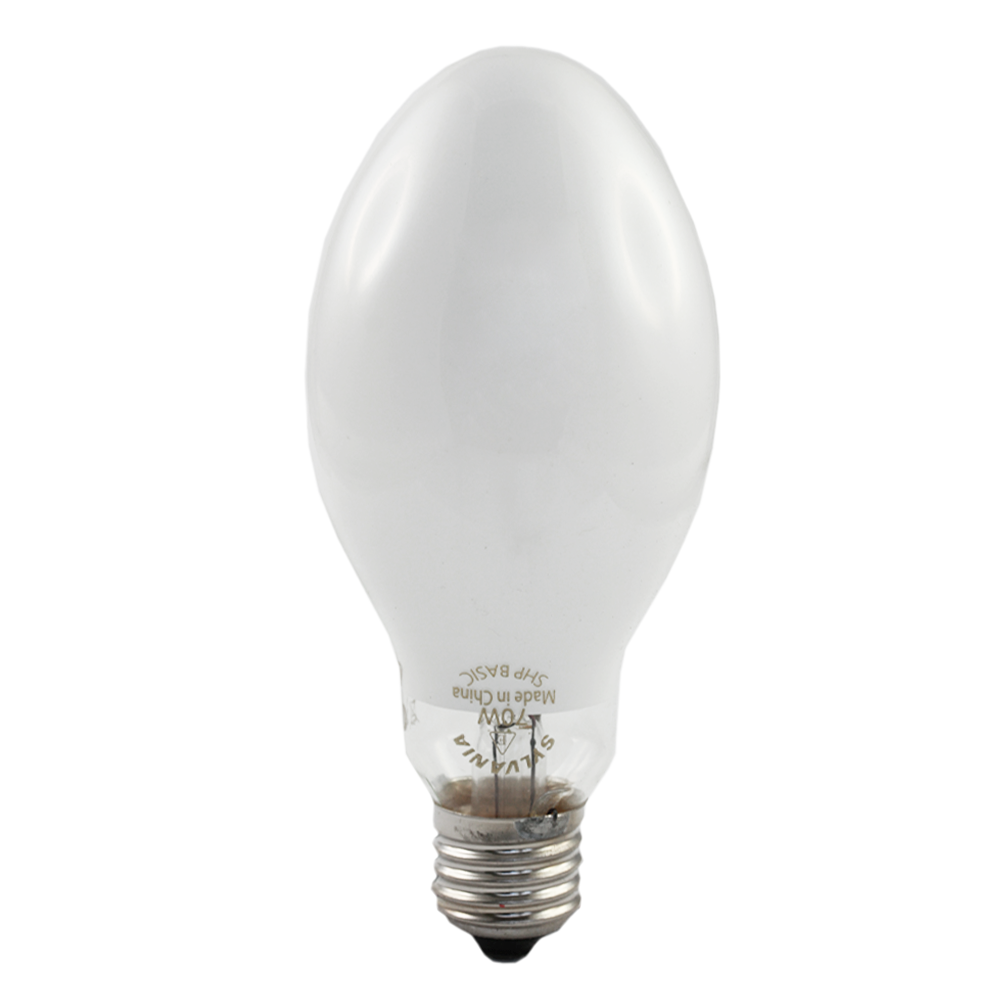Sylvania Basic High Pressure Sodium Light SHP 70W Edison External