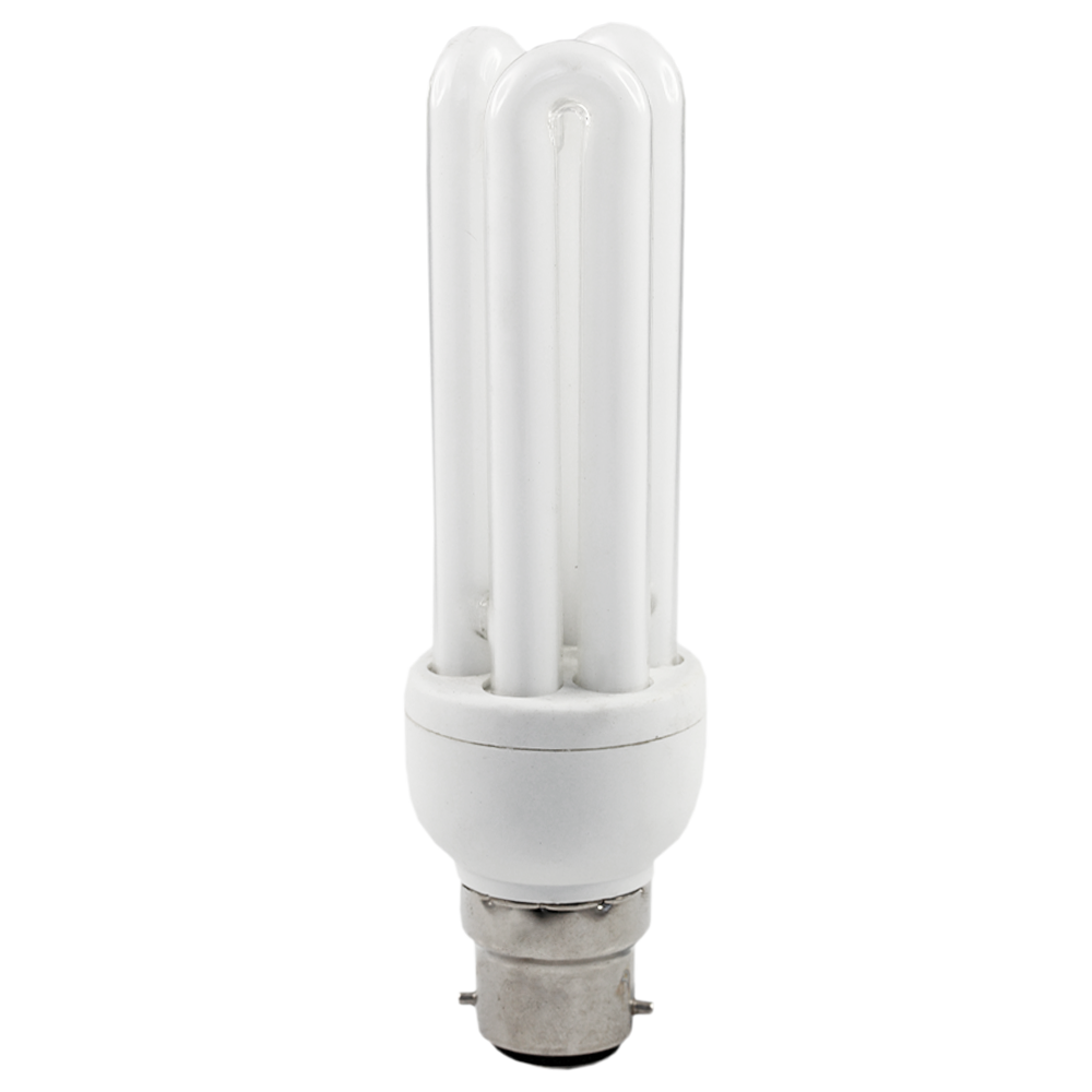 Deluxlite Energy Saving CFL 18W Cool White Bayonet
