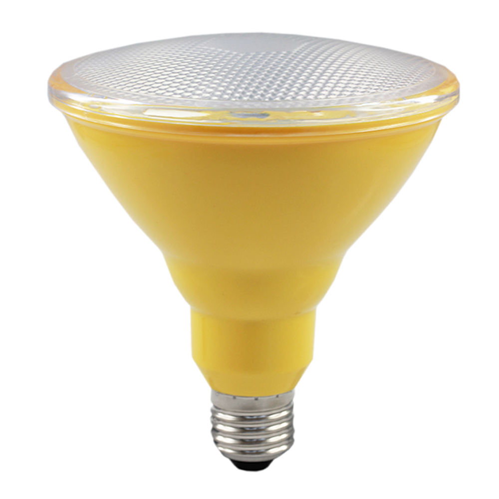PAR38 EnergX LED Energy Saver Lamp 10W Yellow 240V E27