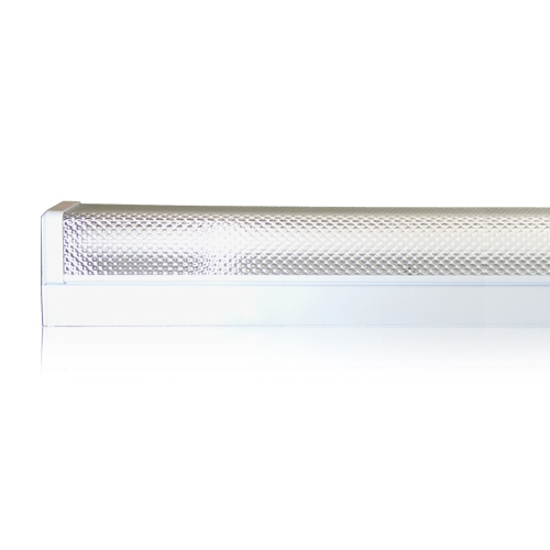 Prismatic Fitting With Magnetic Ballast 1x 36W Cool White