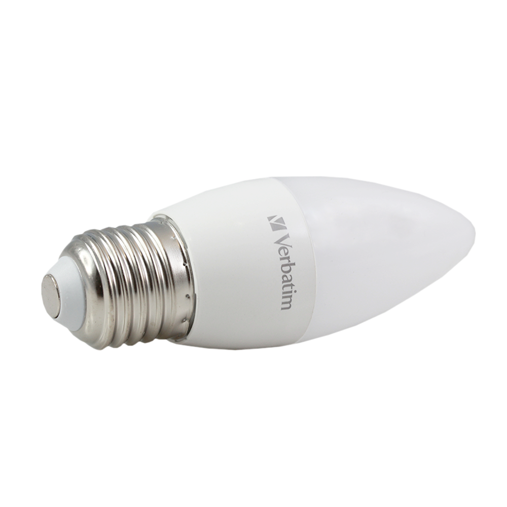 LED Candle Frosted 6.2W 3000K Dimmable E27
