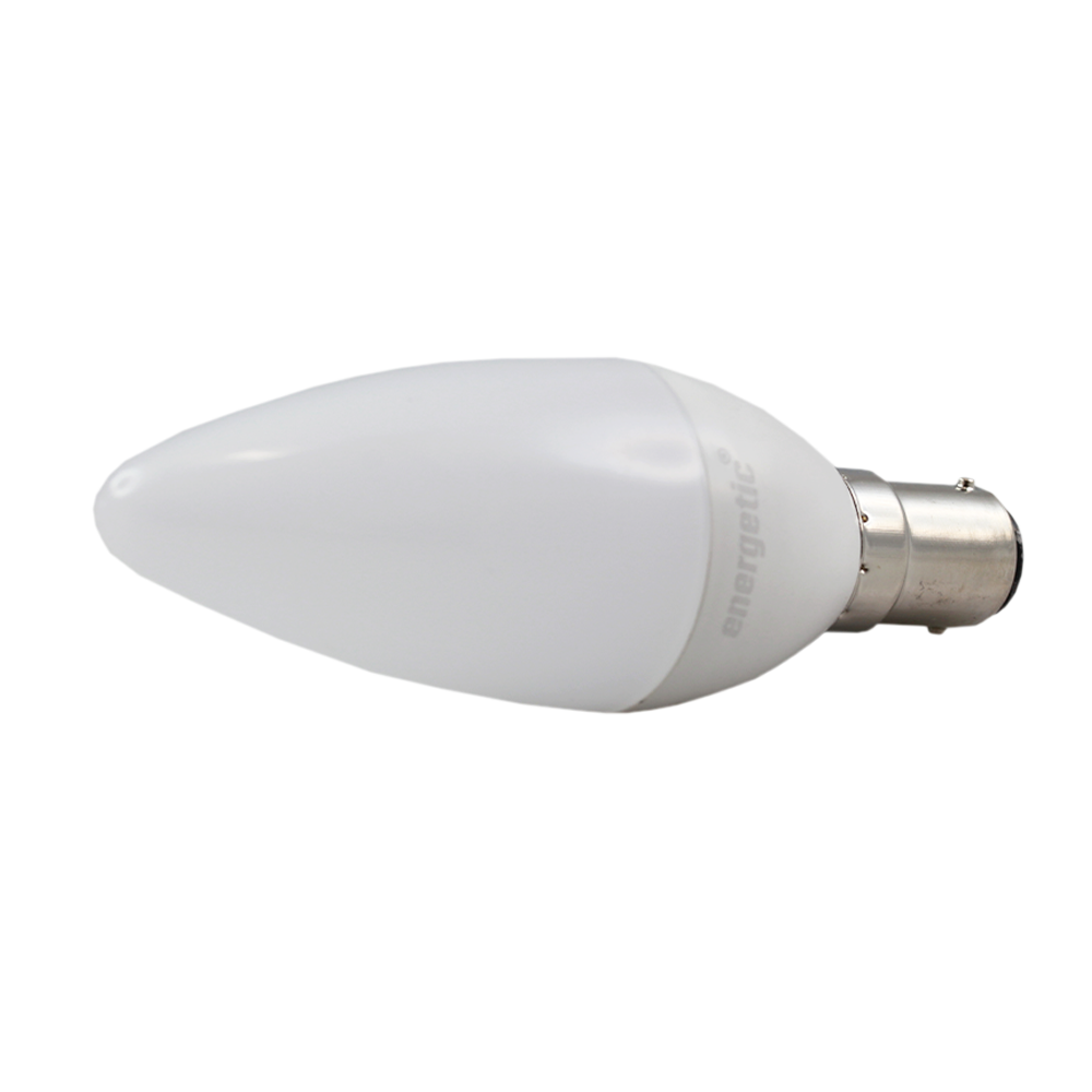 Smarter Lighting LED Candle Frosted 6W 4000K Dimmable BA15d