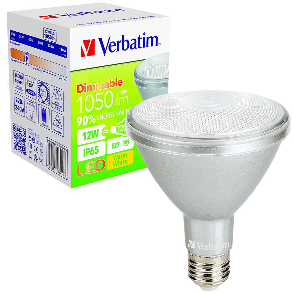 LED PAR30 12W 3000K Dimmable E27