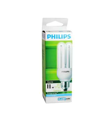 Philips Genie Energy Saver Compact Fluorescent 11W Cool Daylight E27